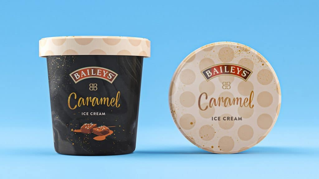 Baileys Caramel Ice Cream